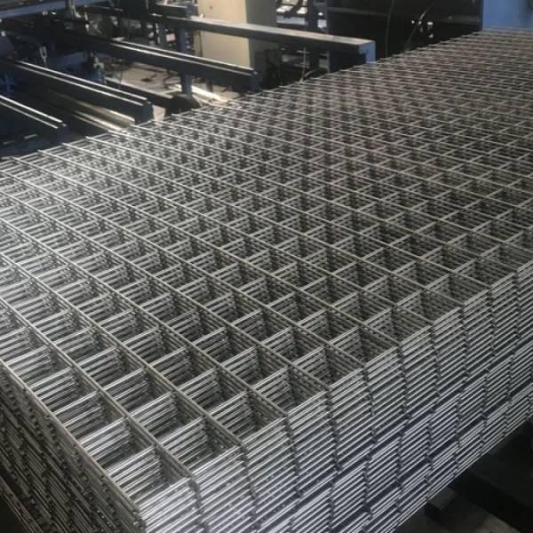 Çelik Hasır Tel 5x5 cm Hasır Tel 4 mm Galvanizli Tel