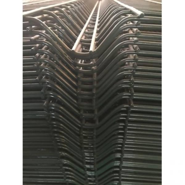 Siyah Boyalı Panel Çit